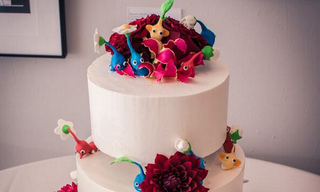 Illustration for article titled Wedding Cake Covered With Pikmin
