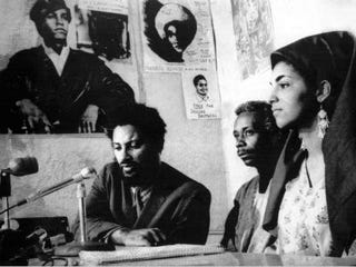 Dr. Imari Obadele (center) is Toldson's stepfather. (United Press International/EmPower Magazine)