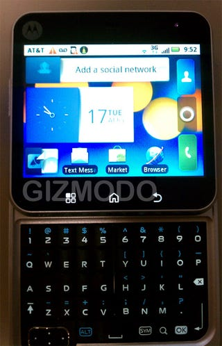 Illustration for article titled More Leaked Shots of Motorola's Square Android Slider For AT&T, Codenamed Chindi