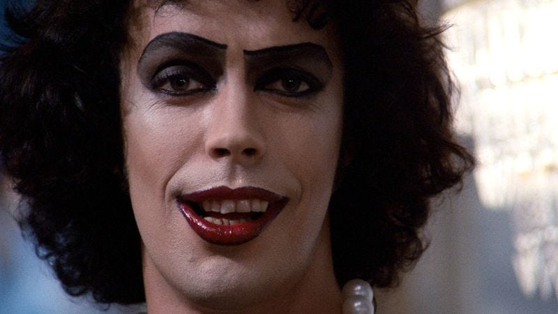 Tim Curry in The Rocky Horror Picture Show (Photo: Screencap)