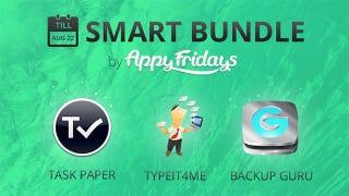 Illustration for article titled AppyFridays Smart Bundle Offers TaskPaper, TypeIt4Me, and More for $10