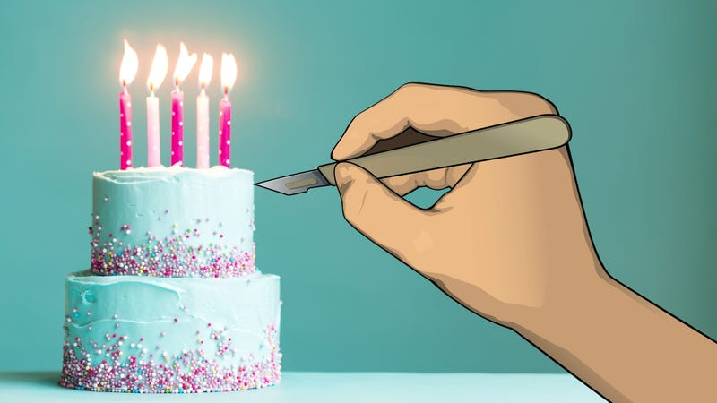 Illustration for article titled Add vasectomy to list of things that can be celebrated with cake