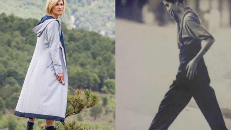 Jodie Whittaker's Doctor Who outfit, alongside the fashion spread that started it all.