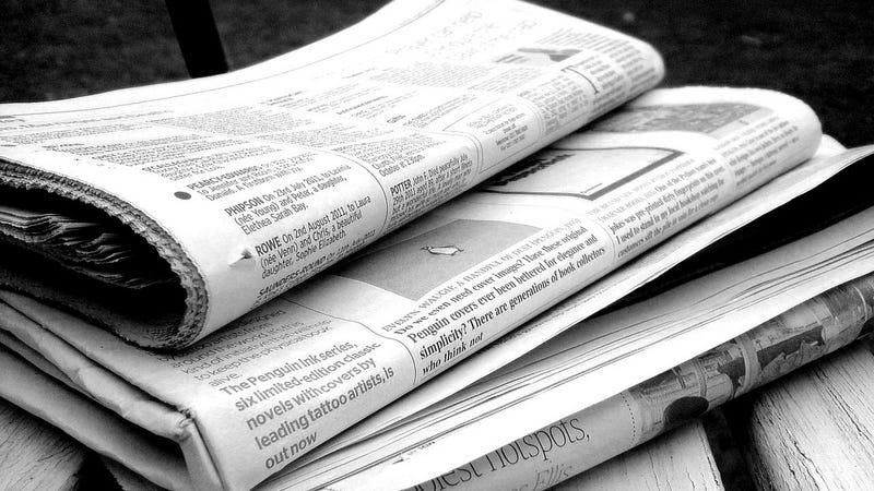 Newspaper pulitzer prizes