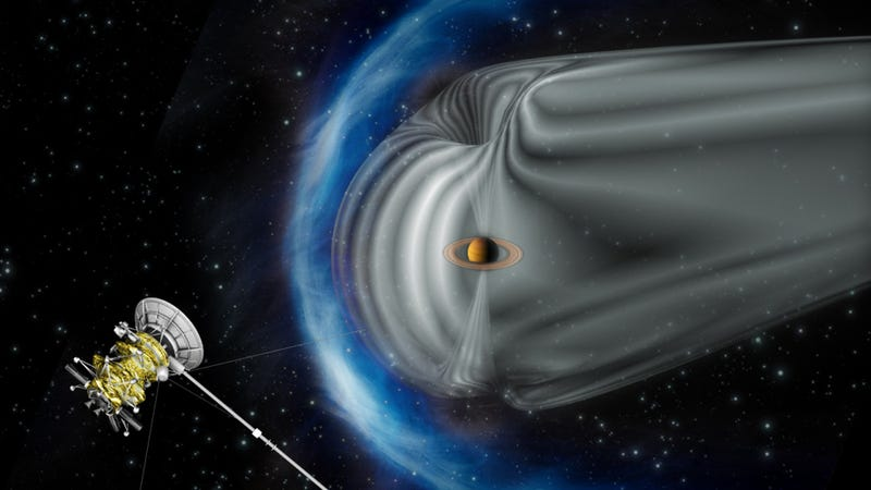 Illustration for article titled NASA has found a free particle accelerator floating in space