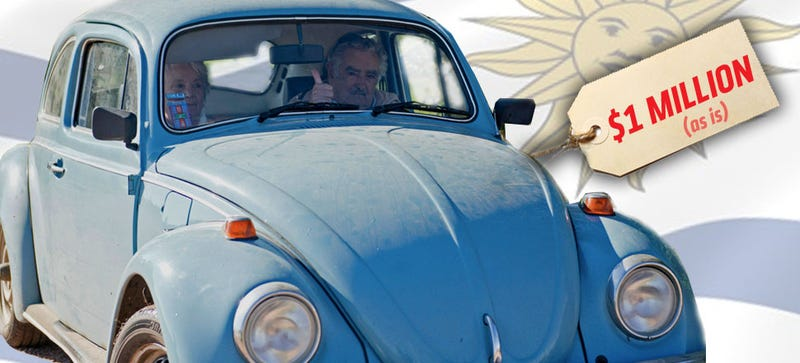 A Sheik Wants To Buy The President Of Uruguay's VW Beetle For $1 Million