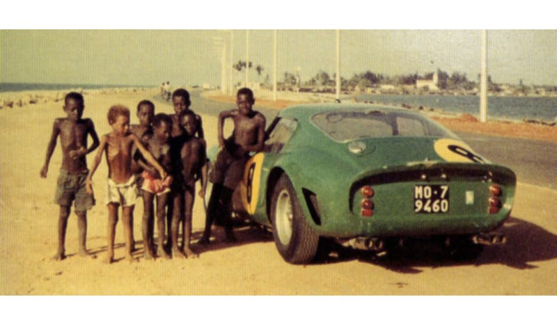 Illustration for article titled What Is This Ferrari 250 GTO Doing In Angola?