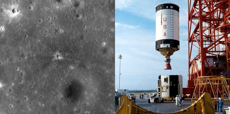 Encuentran, 43 años después, el cráter perdido que dejó el Apolo 16 en la Luna