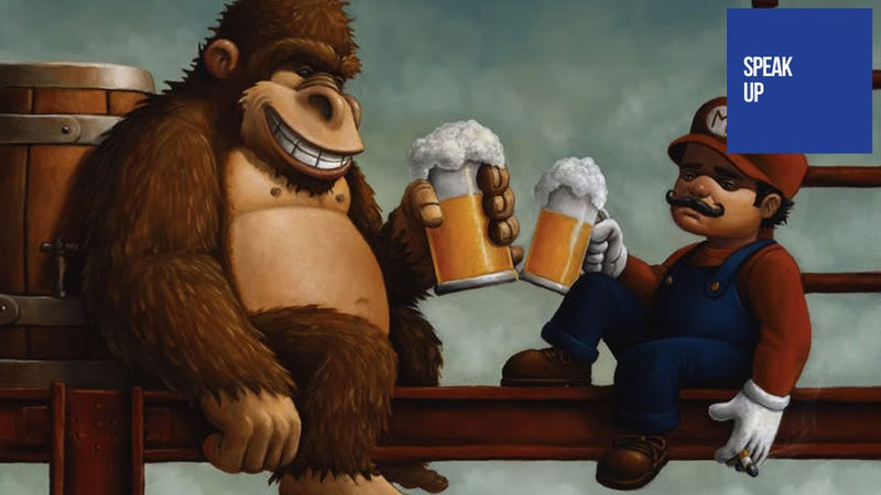 Illustration for article titled Drinking And Gaming Can Kill a High Score