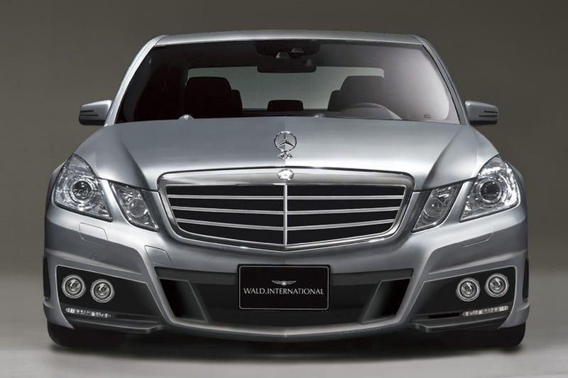 Illustration for article titled Wald International Teases Black Bison Mercedes E-Class