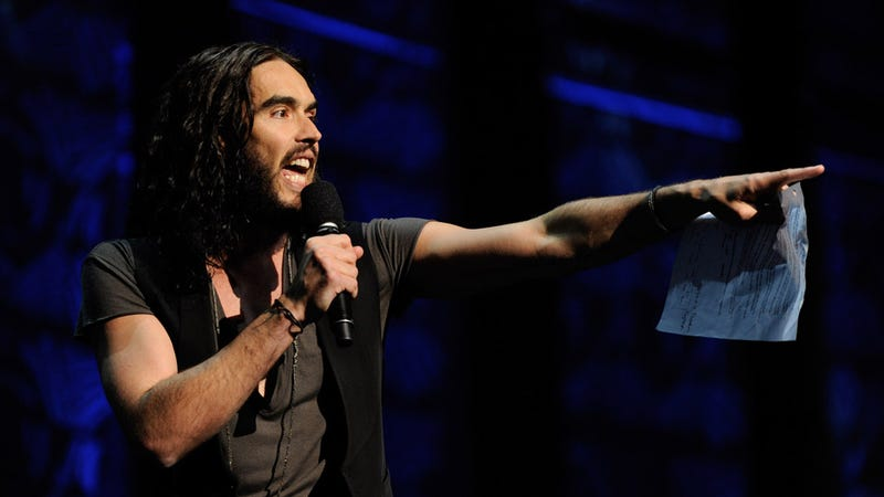Illustration for article titled Noted Troublemaker Russell Brand Has Been Arrested—Yet Again