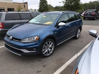 Illustration for article titled The Alltrack hits dealer lots. Is expensive as shit.