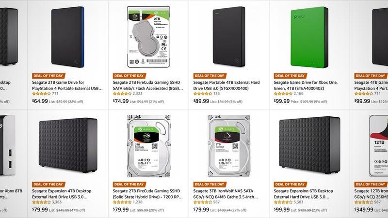 Seagate Hard Drive Sale | Amazon