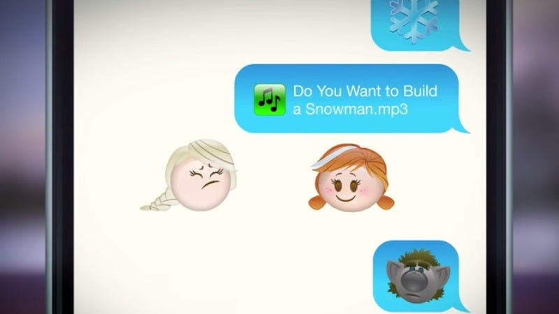 Illustration for article titled Disney remade Tangled and Frozen using emojis