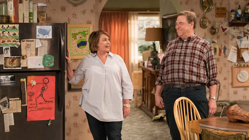 Illustration for article titled Tom Arnold likes the Roseanne reboot, even if he doesn't like the real Roseanne's politics