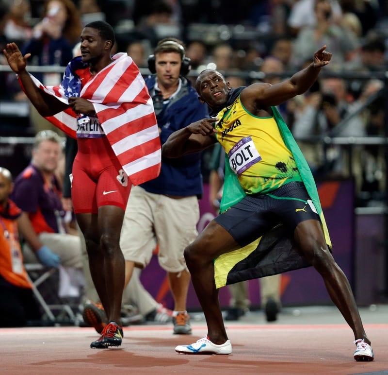 Illustration for article titled Justin Gatlin Still Feels Usain Bolt Is Beatable