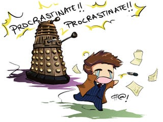 Illustration for article titled TAY Time Chat: Procrastination!