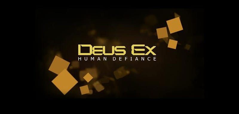 "Illustration for article titled A New Deus Ex ""Game"" Is Being Unveiled Tomorrow"