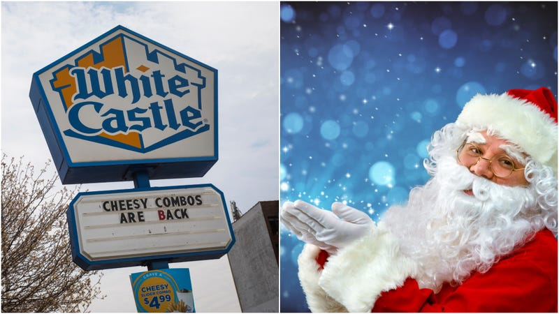 Illustration for article titled Get kids freemeals at White Castle by subjecting them to Santa Claus