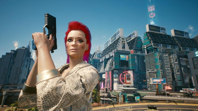 Cyberpunk 2077 s Retrofuturistic World Is Worth Exploring Beneath the Flaws