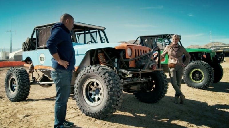 Here's The Deal With That Crazy Jeep Race You Saw On Top Gear