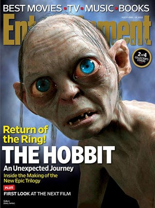 Illustration for article titled The Hobbit EW Covers