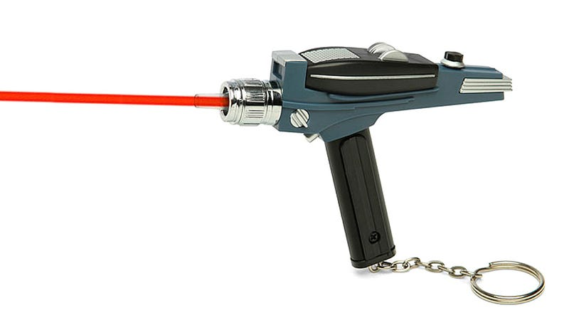 Illustration for article titled How Did It Take So Long to Make a Star Trek Phaser Laser Pointer?