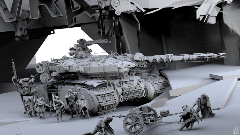Illustration for article titled Still Fighting Wars In Black And White