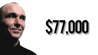 Illustration for article titled Will You Let Peter Molyneux Peek in Your Brain and Sell You a $77,000 Chisel?