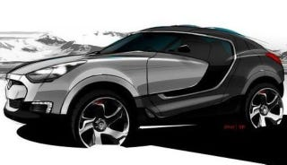 Illustration for article titled New Hyundai Crossover SUV Concept to Debut in Geneva