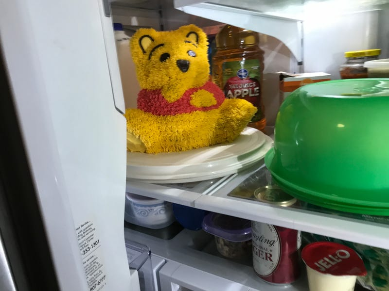 Illustration for article titled Pooh in the Fridge