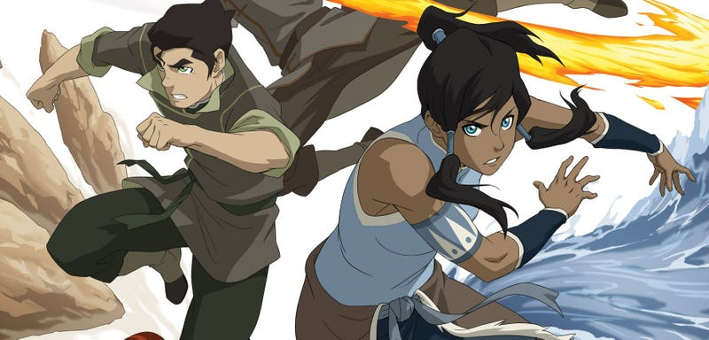 Illustration for article titled Here's Something To Help Tide You Over Until Legend of Korra Book 2