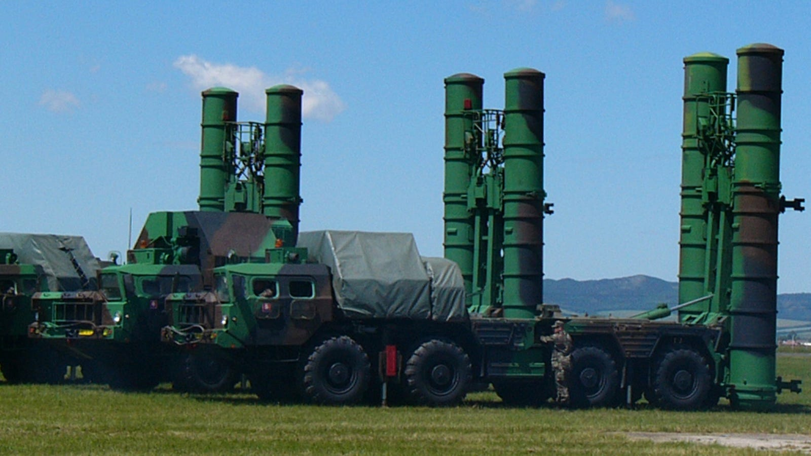 This Russian Mobile SAM Site Could Be a Serious Ace Up Syria's Sleeve