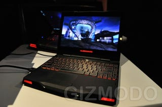Illustration for article titled Alienware M11X Hands-On: Fast Ride In a Short Machine