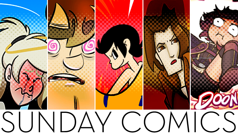 Illustration for article titled Sunday Comics: Behold The Power