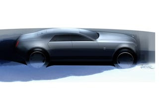 Illustration for article titled Rolls-Royce RR4 Gets A Sketchy Tease Before Real 2010 Reveal