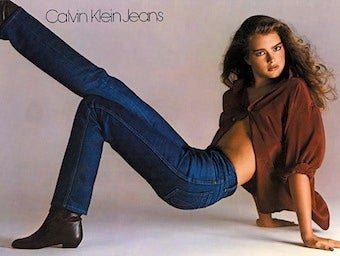 Illustration for article titled Nothing Gets Between Brooke Shields And Her 30-Year-Old Calvins