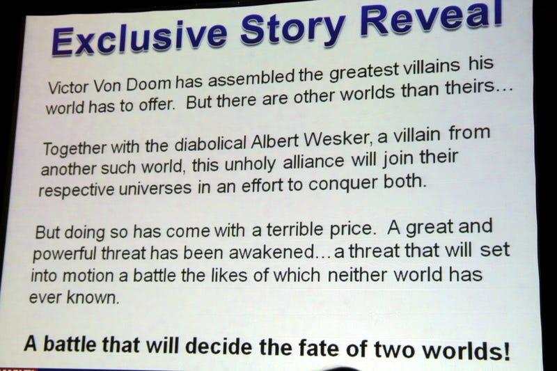 Illustration for article titled Behold The Storyline For Marvel Vs. Capcom 3
