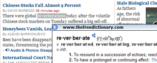 Illustration for article titled Download of the Day:  Dictionary Tooltip (Firefox)
