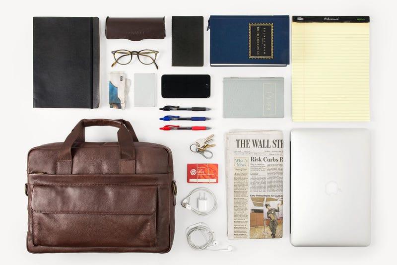 Daniel's Leather Briefcase | $175 | Daniel's | Promo code KINJA. $200 for patterned liner models.
