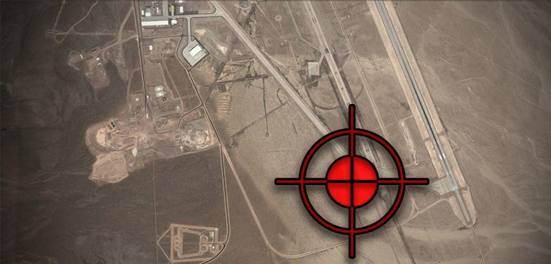 Illustration for article titled New Area 51 Satellite Imagery Shows Massive New Hangar Almost Finished