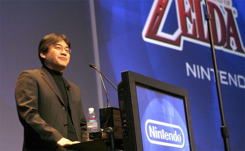 Illustration for article titled Nintendo's Satoru Iwata GDC Keynote Liveblog Party