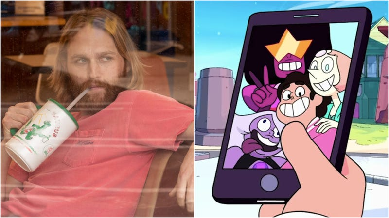 Wyatt Russell; the Crystal Gems and Steven