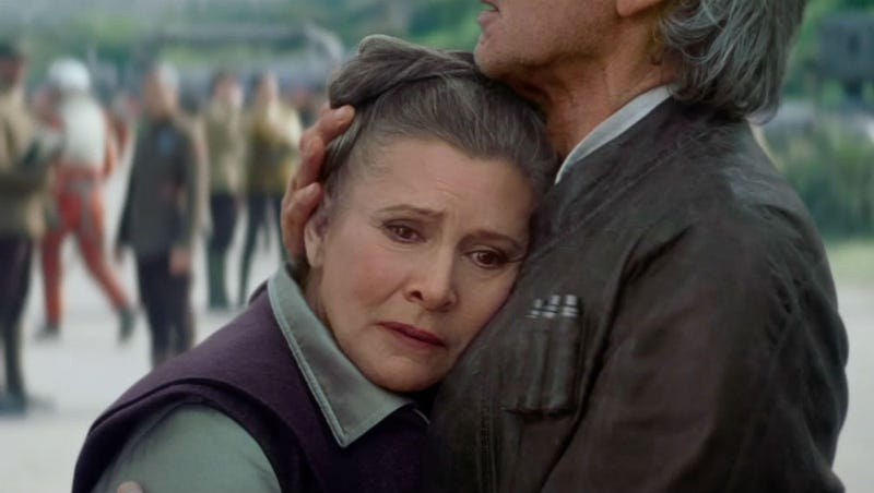 """Illustration for article titled The Star Wars Universe Doesn't Call Leia """"Princess"""" Anymore And Other New Force Awakens Reveals"""