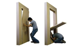 Illustration for article titled This Door Is Supposed To Save Lives During Earthquakes