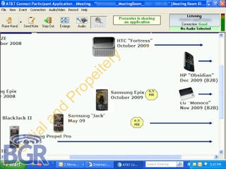 Illustration for article titled Leaked Release List Details AT&T Windows Mobile Phones