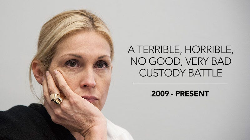 Illustration for article titled A Timeline of Kelly Rutherford's Six-Year Custody Battle