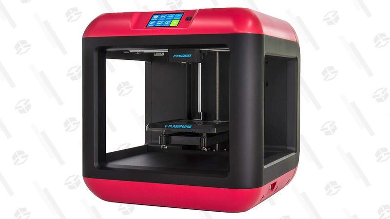 Impresora 3D FlashForge Finder Wi-Fi y nube | $299 | AmazonGráfico: Corey Foster
