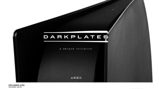 Dbrand Dares Sony to Sue Over Its New Black Faceplates for the PS5