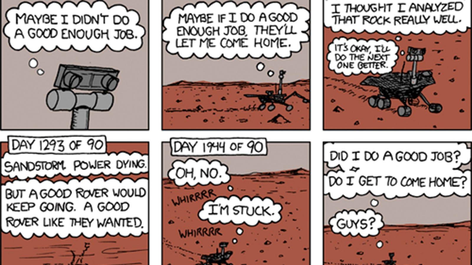 mars rover cartoon - photo #27